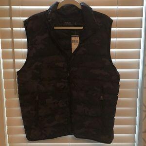 NWT Men's Ralph Lauren Polo vest sz XL